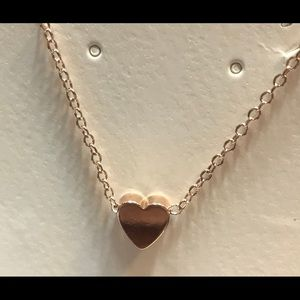 Jewelry - Shiny Rose Gold Plated Charles Pendant Necklace